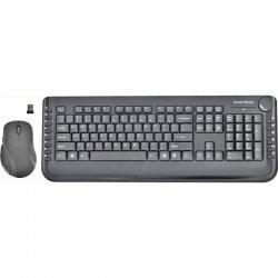 Gear Head - KB5850W - Gear Head KB5850W Keyboard and Mouse - USB Wireless RF Keyboard - Black - USB Wireless RF Mouse - Optical - Scroll Wheel - Black (PC)