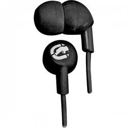 ecko - EKU-CHA-BK - Ecko Unltd.(R) EKU-CHA-BK Chaos Earbuds with Microphone (Black)