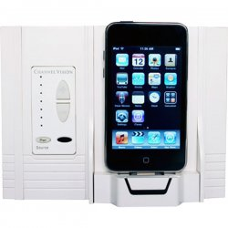 Channel Vision - A0315 - Channel Vision iBus A0315 On-Wall Dock - Wired - Digital Player - Charging Capability - White