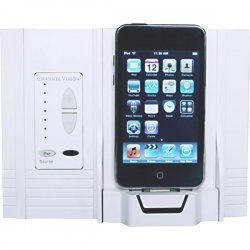 Channel Vision - AB-315 - On-Wall Docking Station Made for iPod For A-BUS Audio