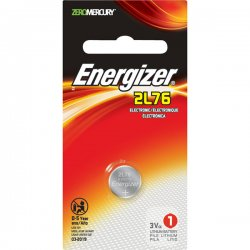 Energizer - 2L76BP - Energizer 2L76 Battery - Lithium (Li) - 3 V DC - 1 / Pack