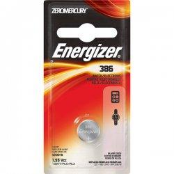 Energizer - 386BPZ - Energizer Multipurpose Battery - 120 mAh - Silver Oxide - 1.6 V DC - 1 Each