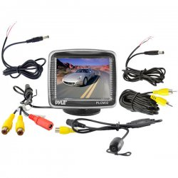 "Pyle / Pyle-Pro - PLCM32 - Pyle PLCM32 3.5"" Active Matrix TFT LCD Car Display - 200:1"
