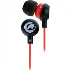 ecko - EKU-CHA2-RD - ECKO UNLIMITED EKU-CHA2-RD Ecko Chaos 2 Earbuds with Microphone (Red)