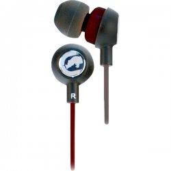 ecko - EKU-CHA2-BK - ECKO UNLIMITED EKU-CHA2-BK Ecko Chaos 2 Earbuds with Microphone (Black)