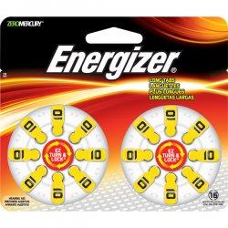 Energizer - AZ10DP-16 - Hearing Aid Battery, Zero Mercury Coin Cell, 10, 1.4V
