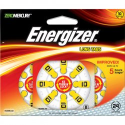 Energizer - AZ10DP-24 - Energizer Hearing Aid Battery - 10 - 24 / Pack
