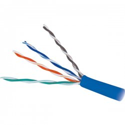 Steren Electronics - 13910 - Steren Cat.5e UTP Cable - Category 5e for Network Device - Blue
