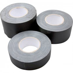 Hosa - GFT-526BK - Hosa Technology Gaffer Tape - 2 Width x 90 ft Length - Easy Tear, Residue-free - Black