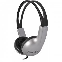 Koss - ED1TC - Koss ED1TC Headphone - Stereo - Wired - 32 Ohm - 100 Hz 20 kHz - Over-the-head - Binaural - Ear-cup - 4 ft Cable