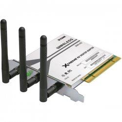 D-Link - DWA-552 - D-Link Xtreme N DWA-552 Desktop Adapter - PCI - 54Mbps