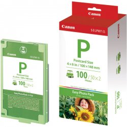 Canon - 1335B001 - Canon E-P100 Photo Pack For Selphy ES1 Printer - 2 / Pack