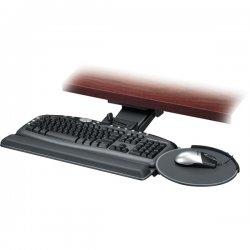 "Fellowes - 8036101 - Fellowes Professional Series Executive Keyboard Tray - 5.8"" Height x 28.2"" Width x 21.3"" Depth - Black"