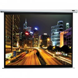 "Elite Screens - ELECTRIC84H - Elite Screens Electric84H Spectrum Ceiling/Wall Mount Electric Projection Screen (84"" 16:9 Aspect Ratio) (MaxWhite) - 58"" x 76"" - Matte White - 84"" Diagonal"