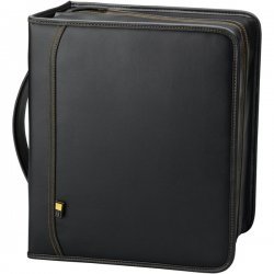 Case Logic - DVB-200 - Case Logic DVD Album- 200 DVDs - AlbumKoskin, Faux Leather - Black - 200, 92 CD/DVD, Title Note