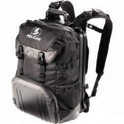 Pelican - 0S1000-0003-110 - ProGear S100 Carrying Case (Backpack) for 17 Notebook - Black - Shoulder Strap, Handle, Chest Strap, Hip Belt - 18.5 Height x 13 Width x 10 Depth