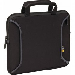"Case Logic - LNEO10 - Case Logic 10"" Ultra-Portable Notebook Attache - Neoprene - Black"