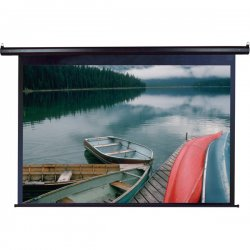 "Elite Screens - vmax92uwh2 - Elite Screens VMAX92UWH2 VMAX2 Ceiling/Wall Mount Electric Projection Screen (92"" 16:9 Aspect Ratio) (MaxWhite) - 63"" x 84"" - 92"" Diagonal"