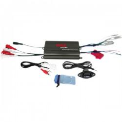 Pyle / Pyle-Pro - PLMRMP3B - Pyle 4 Channel 800 Watt Waterproof Micro Marine Amplifier - Amplifier, Volume Gain Remote Control, iPod/MP3 waterproof 3.5mm stereo to RCA adaptor, Waterproof Poly Bag