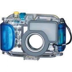 Canon - 2557B001 - Canon WP-DC24 Waterproof Case for Camera - Water Proof - 5.2 Height x 3.6 Width x 2.7 Depth