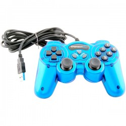 Sabrent - USB-GAMEPAD - Sabrent Twelve-Button USB 2.0 Game Controller For PC - Cable - USB - PC, Mac - 6.5 Cable