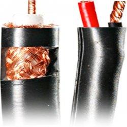 Steren Electronics - 200-915BK - Steren RG59 Coaxial CCTV-Cam Cable - 500ft - Black