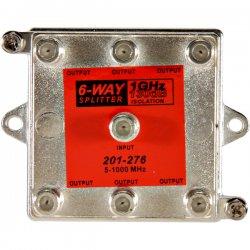 Steren Electronics - 201-276 - Steren Vertical RF Splitter - 1 GHz - 5 MHz to 1 GHz