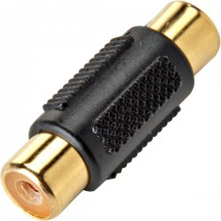 Steren Electronics - 251-116-50 - Rca Coupler Jack-jack Gold 50 Pk