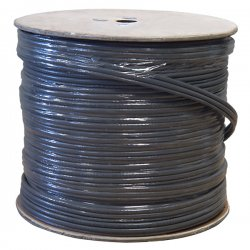Steren Electronics - 300-771GY - Steren Cat.5e Coaxial Cable - Category 5e/Coaxial for Network Device, Audio/Video Device - 500 ft - Bare Wire - Bare Wire