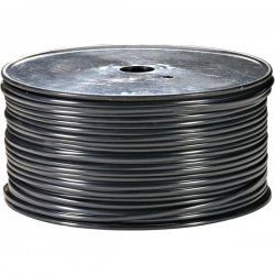 Steren Electronics - 300-840BK - Steren Bulk Flat Modular Cable - 1000ft - Black