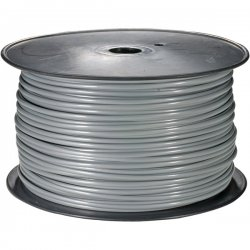 Steren Electronics - 300-840SL - Steren Bulk Flat Modular Cable - 1000ft - Silver