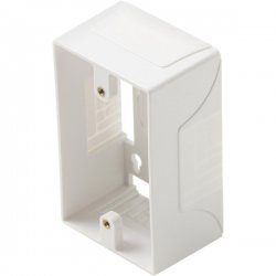 Steren Electronics - 310-100wh - Steren Surface Mount Junction Box - 1-gang - White