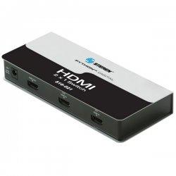 Steren Electronics - 516-021 - Steren Python Digital 2 x 1 HDMI Switcher - 2 x HDMI Audio/Video In, 1 x HDMI Audio/Video Out - 1600 x 1200 - SVGA, XGA, UXGA, VGA
