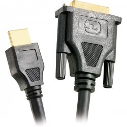 Steren Electronics - 516-915BK - Steren HDMI to DVI Cable - Male HDMI - DVI Male - 15ft - Black