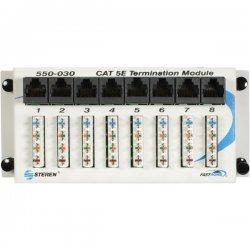 Steren Electronics - 550030 - Steren FastHome Data Hub Module - 8 x RJ-45 - 8 Port(s) - 8 x RJ-45 - 8 x RJ-11