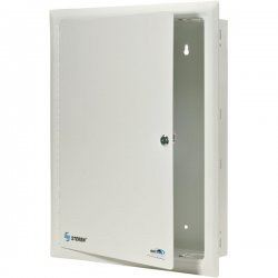 """Steren Electronics - 550-210 - Steren FastHome In-Wall Mount Enclosure - 44"""" - Textured White"""