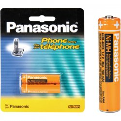 Panasonic - HHR-4DPA - Panasonic Nickel Metal Hydride Cordless Phone Battery - Nickel-Metal Hydride (NiMH) - 1.2V DC