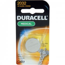 Duracell - DL2032BPK - Duracell DL2032BPK Battery, 3V, 2032, Lithium, Button Cell