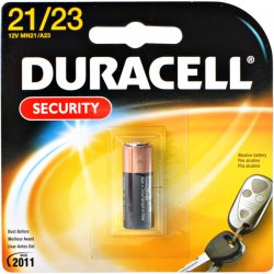 Duracell - MN21BK - Coppertop Alkaline Batteries with Duralock Power Preserve Technology, 12V