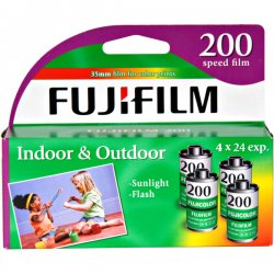 Fujifilm - 15717646 - Fujifilm Superia 200 35mm Color Film Roll - 200 ASA