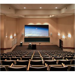 "Draper - 252133 - Draper Clarion Fixed Projection Screen - 58"" x 104"" - M1300 - 119"" Diagonal"
