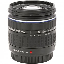 Olympus - 261055 - Olympus 14-42mm F3.5-5.6 Zuiko Digital Zoom Lens - 0.19x - 14mm to 42mm - f/3.5 to 5.6