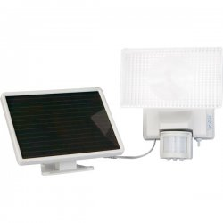 Maxsa - 40110 - Solar-Powered 30Watt Security Floodlight