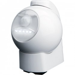 Maxsa - 40231 - MAXSA INNOVATIONS 40231 Motion-Activated LED Outdoor Light (White)