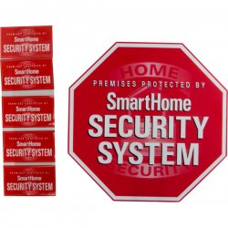 GE (General Electric) - 45400 - GE 45400 Security Yardstake Sign with Window Stickers