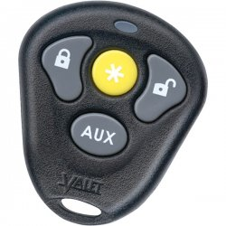 Directed - 474T - Directed Electronics 4-Button Replacement Remote - Car Security System