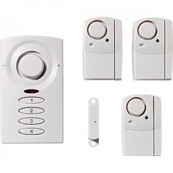 GE (General Electric) - 51107 - GE 51107 Wireless Alarm System Kit
