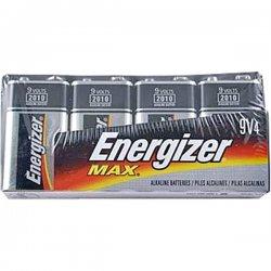 Energizer - 522FP-4 - Energizer Alkaline Battery Pack - 595 mAh - 9V - Alkaline - 9 V DC - 4 / Pack