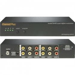 Channel Plus - 5445 - Quad modulator (digital) 4 inputs- CATV 65-125 and UHF 14-64