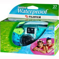 Fujifilm - 7025227 - Fujifilm QuickSnap Waterproof 35mm Disposable Camera - 35mm)